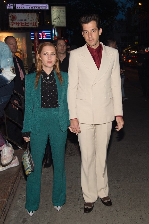 Josephine de la Baume and Mark Ronson.