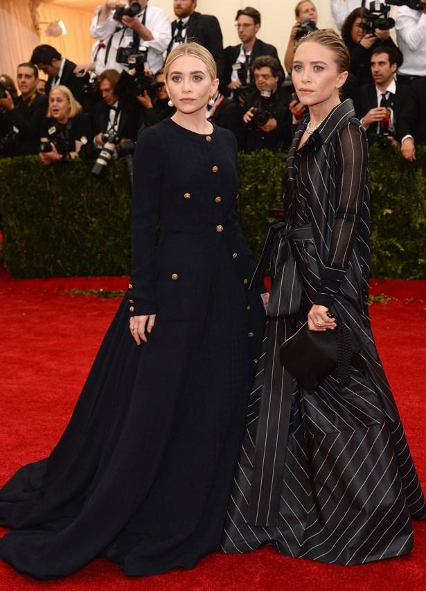 Ashley and Mary-Kate Olsen, 2014.