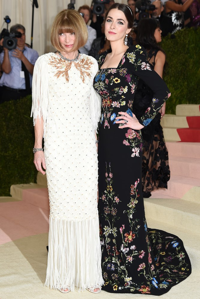 Anna Wintour and daughter Bee Shaffer