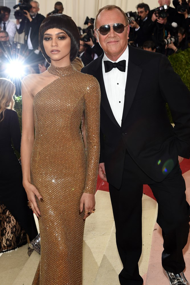 Zendaya and Michael Kors