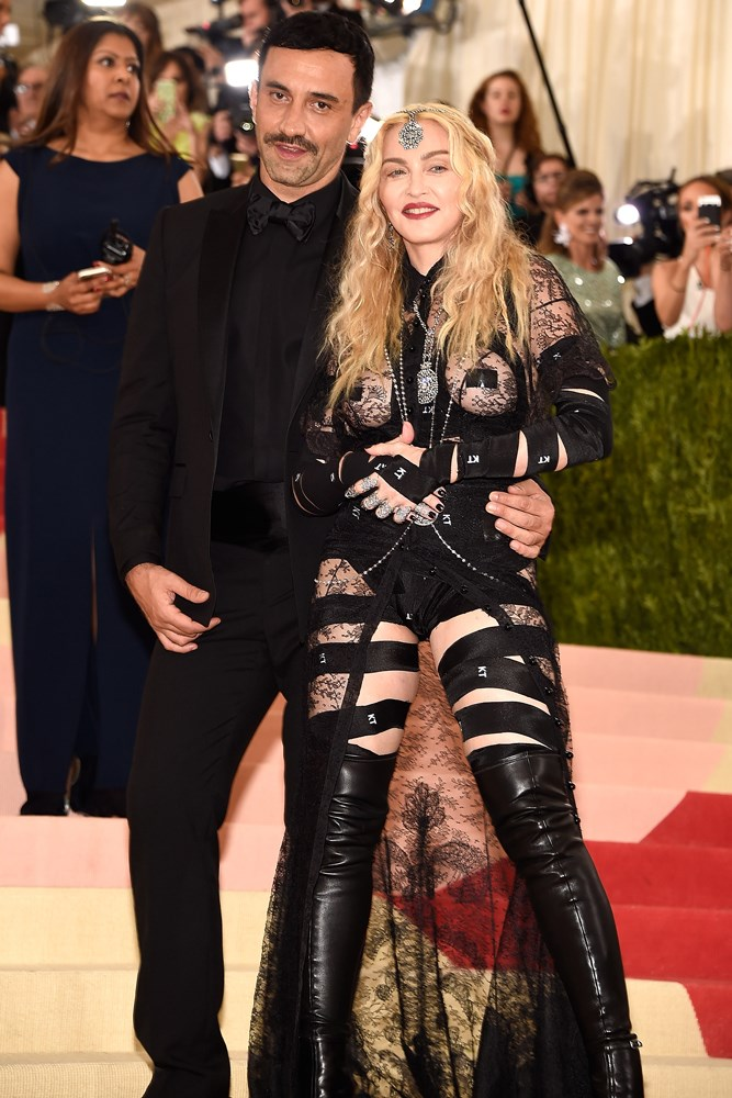 Riccardo Tisci and Madonna