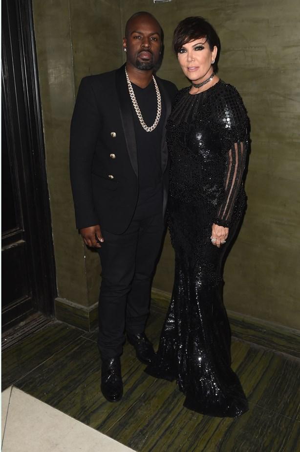 Corey Gamble and Kris Jenner.