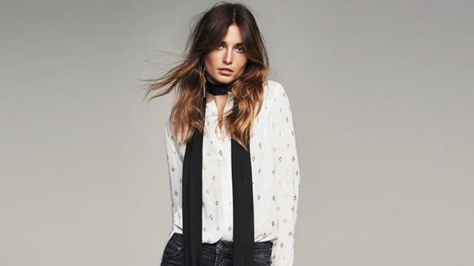 Andreea Diaconu for H&M