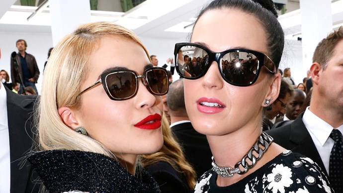 Rita Ora and Katy Perry