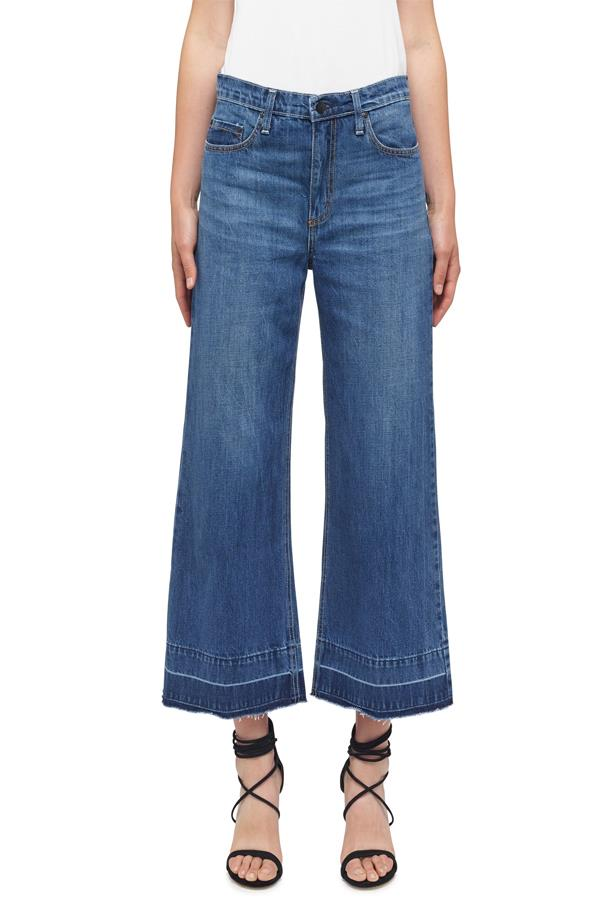 "<a href=""http://nobodydenim.com/women/fit/boyfriend/denim-culotte"">Denim Culotte, $219, Nobody Denim at nobodydenim.com</a>"