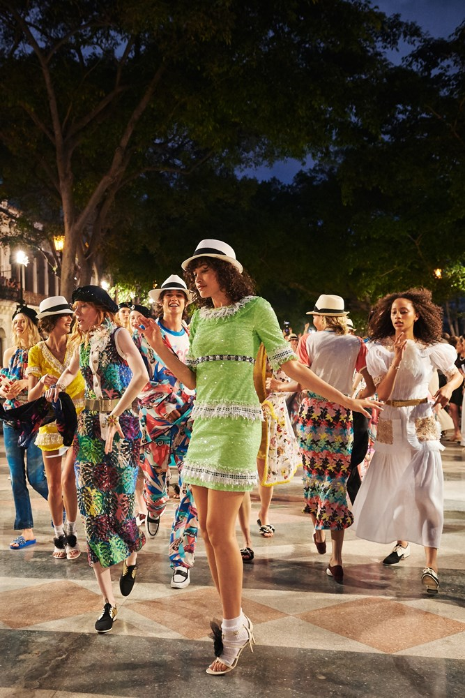 Chanel Cruise 2016/17 show finale