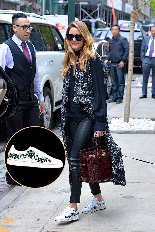 "<a href=""http://www.farfetch.com/au/shopping/women/moncler-gamme-rouge--muguet-sneakers-item-11391041.aspx?storeid=9124&from=1&ffref=lp_pic_27_39_"">Mocler Gamme Rouge 'Muguet' sneakers</a>, $732.66 AUD."