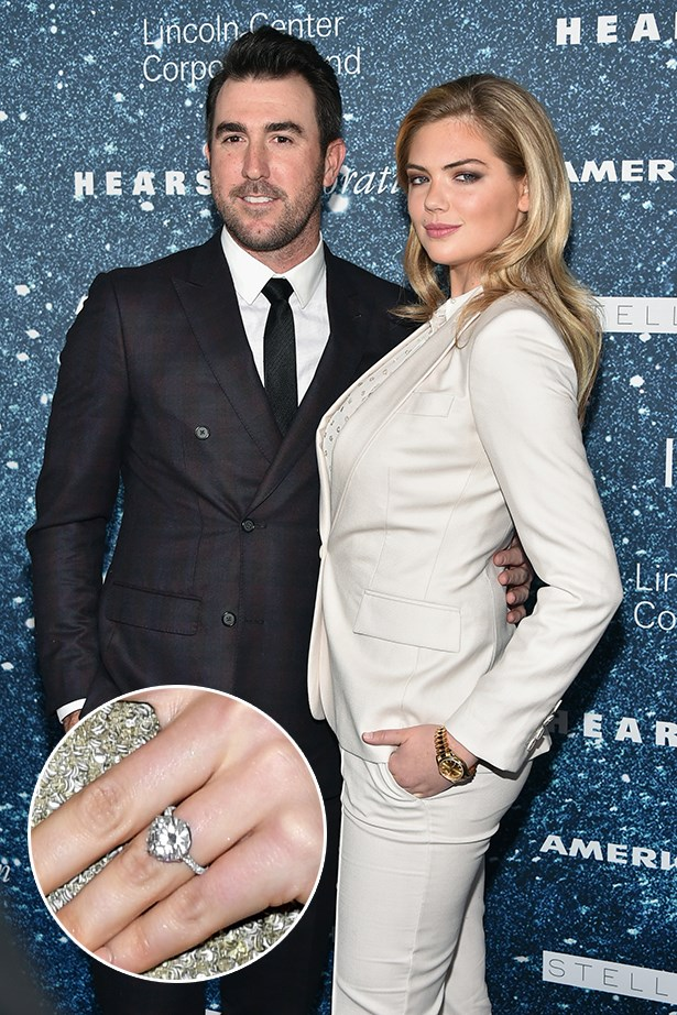 ***Kate Upton.***<br><br> Justin Verlander's sparkly gift to Kate Upton definitely cost him a pretty penny, with jewellery experts estimating the ring's cost at about $2 million AUD. Damn.