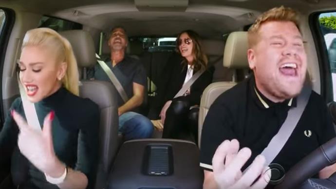 Gwen Stefani Carpool Karaoke.