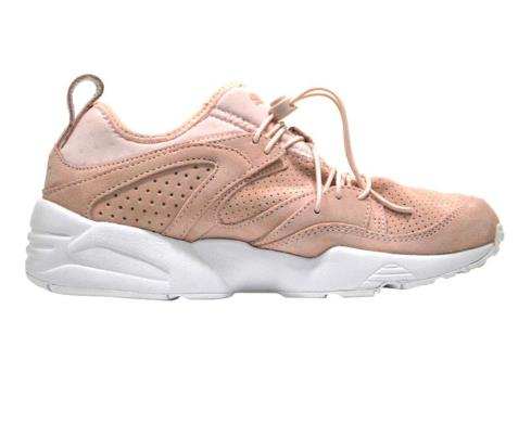 "The perfect in-between shoe for weekend workouts and power walks with friends.<br><br> Sneakers, $180, <a href=""http://www.stylerunner.com/shop/product/36041204/puma-blaze-of-glory-soft-pink.html"">PUMA</a>."