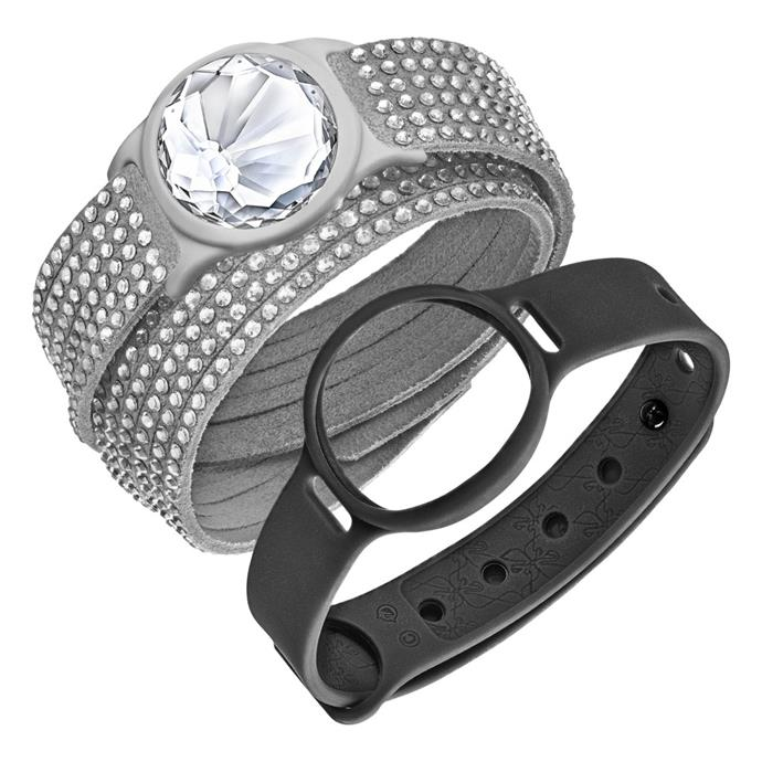"Track your steps – and still look stylish with this jewellery pedometer slashie.<br><br> Activity Crystal, $249, <a href=""http://www.swarovski.com/Web_AU/en/index"">Swarovski</a>."