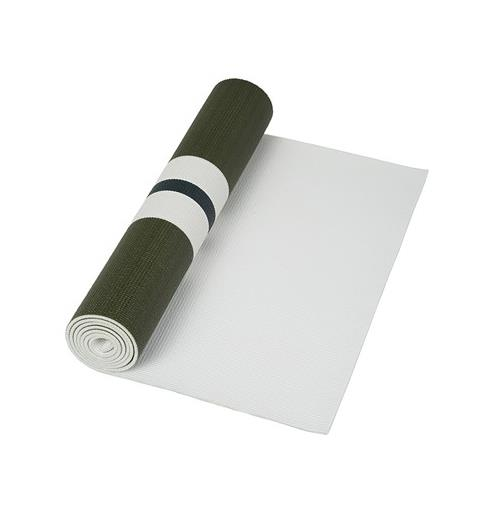 "Trade in your old fluro mat for the colour of the season: army-green.<br><br> Yoga Mat, $160, <a href=""https://www.modesportif.com/shop/product/olympia-activewear-yoga-mat-in-army/"">Olympia Activewear</a>."