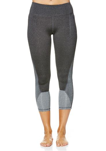 "A workable winter legging for die-hard capri pant fans.<br><br> Legging, $109, <a href=""http://talbotavenue.com/product/ayu-leggings-grey/"">Talbot Avenue</a>."