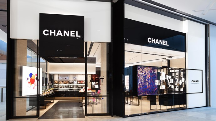 The new Chanel Beauty and Fragrance boutique at the Gold Coast's Pacific Fair shopping centre