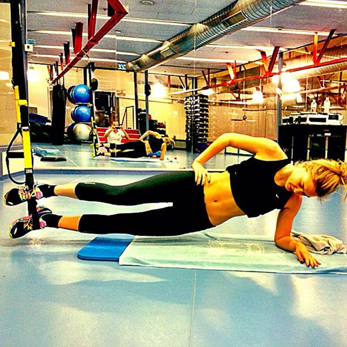 """</p><p><b>TRX</b></p><p> """"The concept of TRX suspension training is pretty basic: you use two cables on your feet or hands to partially suspend your body and use your own body weight as resistance,"""" Towersey says.</p><p> """"The muscle groups you work as well as how hard you work them all depend on the positioning of your body on the cables.""""</p><p> She adds that people who enjoy yoga and Pilates tend to be big fans of TRX because many of the concepts translate, and it can be used to learn how to exercise more efficiently if you're struggling with balance."""
