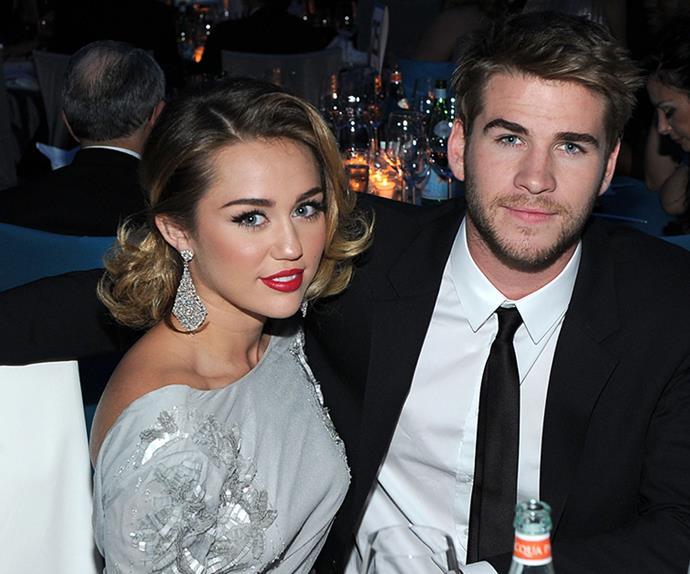 Miley Cyrus Liam Hemsworth Relationship