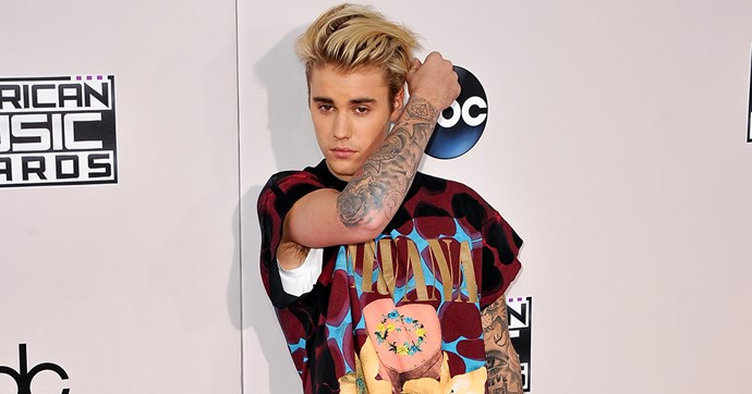Justin Bieber Face Tattoo