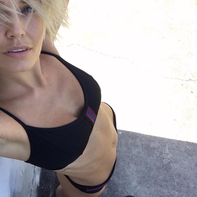 In an Albus Lumen bikini