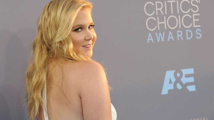 Amy Schumer at the 2016 Critic's Choice Awards in Los Angeles.