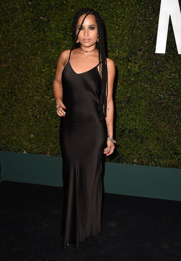 <strong> Zoe Kravitz, October 2014</strong> <br><br> Michael Kors Hosts Launch Of Claiborne Swanson Frank's 'Young Hollywood' Portrait Book.