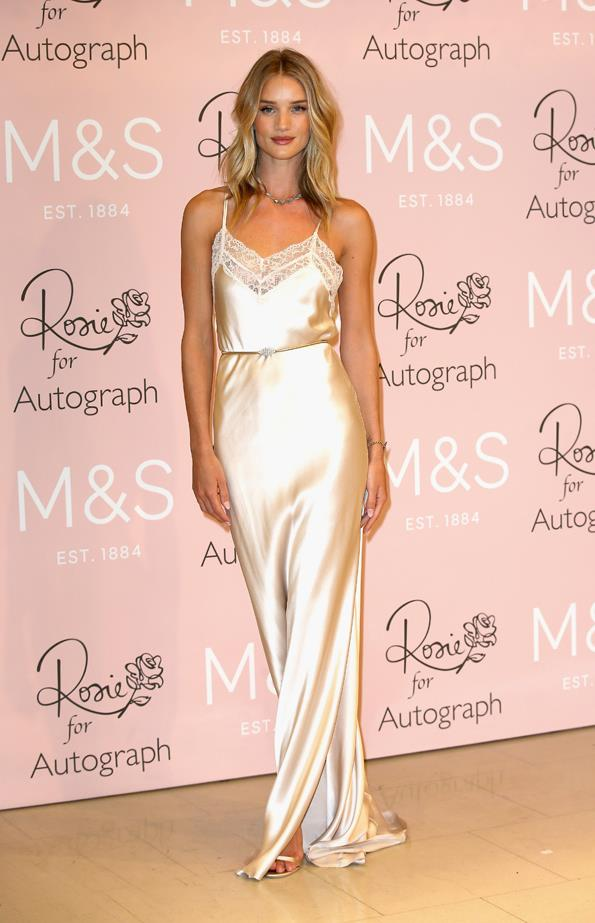 <strong>Rosie Huntington-Whiteley, January 2015</strong> <br><br> 'Rosie for Autograph' for M&S at Marks & Spencer Launch.