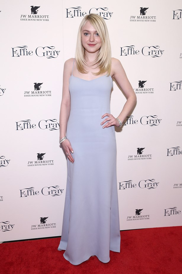 <strong>Dakota Fanning, March 2015</strong> <br><br> 'Effie Gray' New York Premiere.