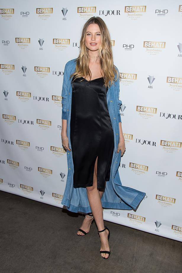 <strong>Behati Prinsloo, March 2016</strong> <br><br> Behati Juicy Couture Black Label at Dream Downtown launch.