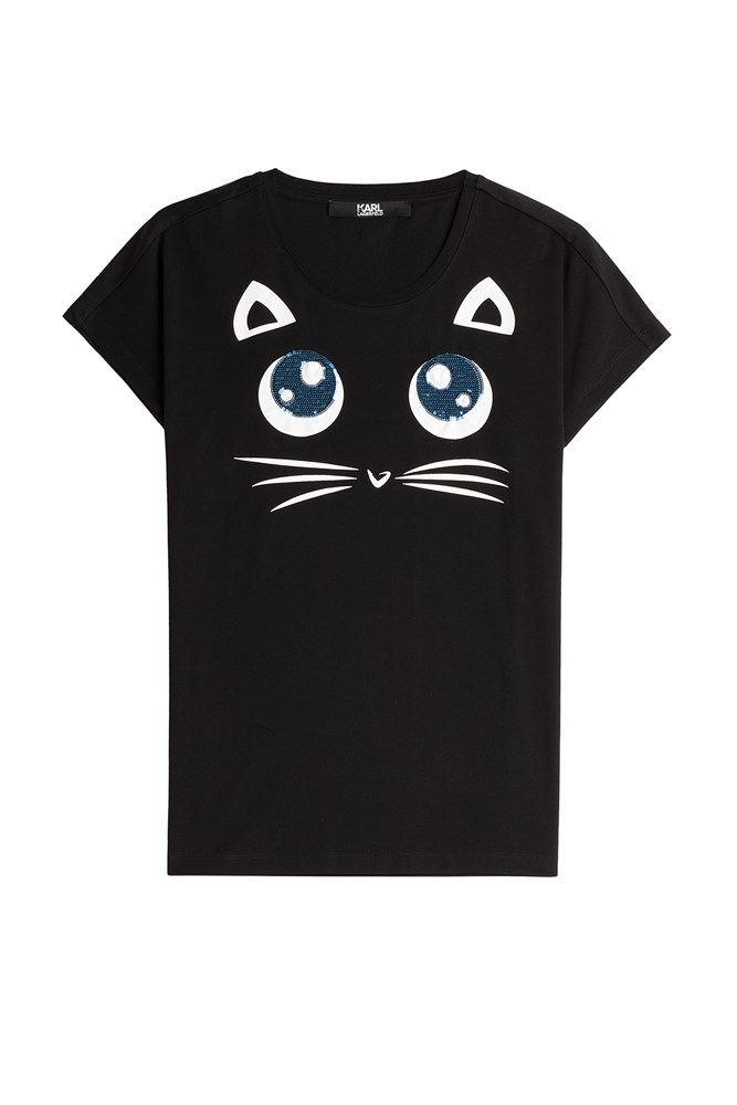 "<a href=""http://www.stylebop.com/au/product_details.php?id=649342"">T-shirt, $98, Karl Lagerfeld at stylebop.com</a>"