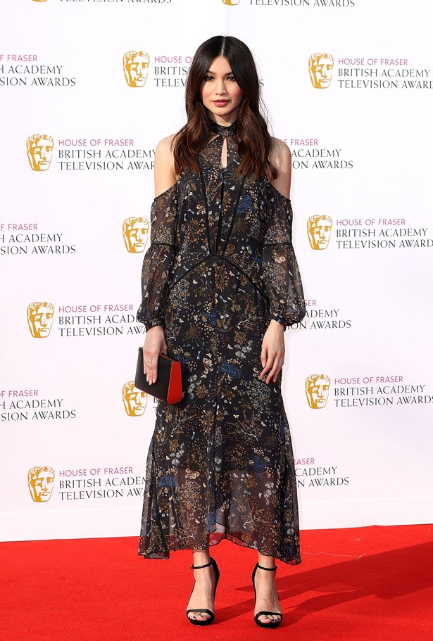 Gemma Chan at the 2016 TV BAFTAs.