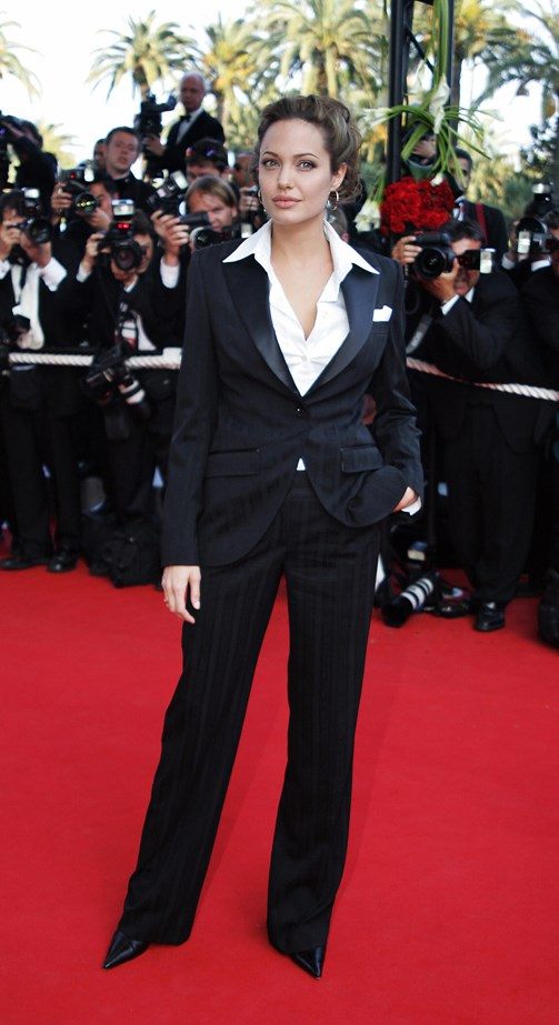 Angelina Jolie, 2004.