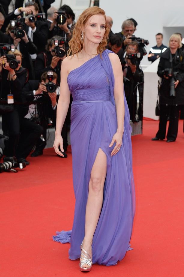 Jessica Chastain, 2014.