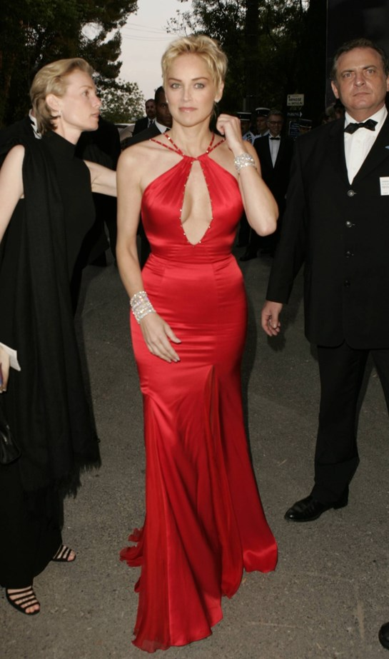 Sharon Stone, 2004.
