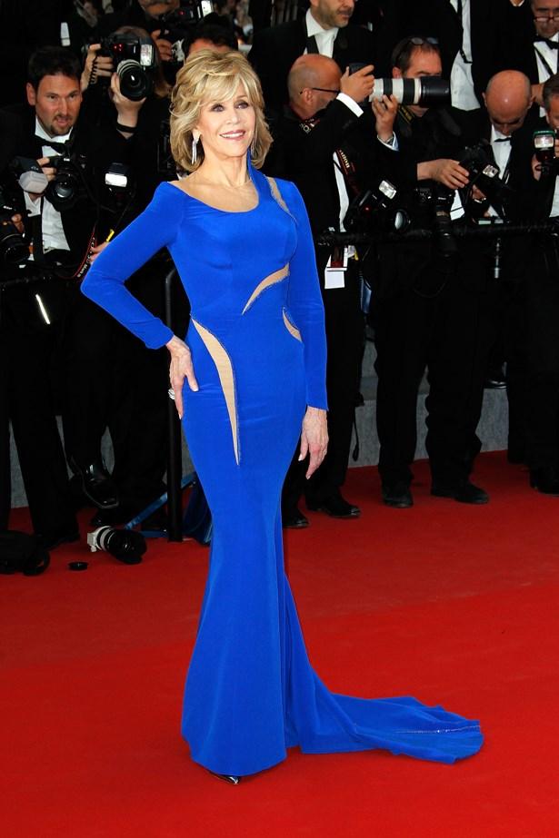Jane Fonda, 2015.