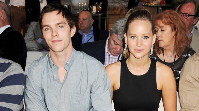 Jennifer Lawrence and Nicholas Hoult.