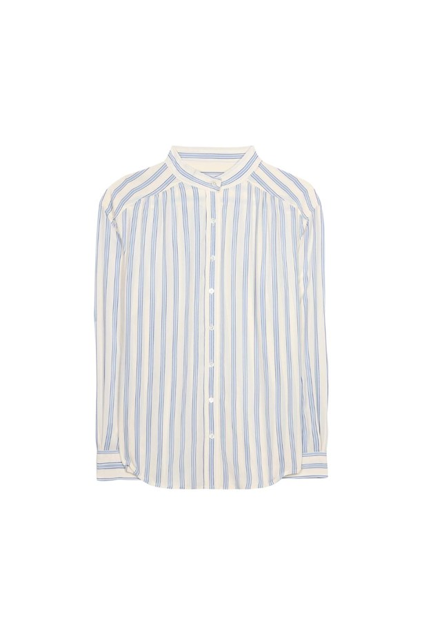 "Shirt, $370, <a href=""http://www.mytheresa.com/en-de/silk-shirt-560967.html"">Closed</a>."
