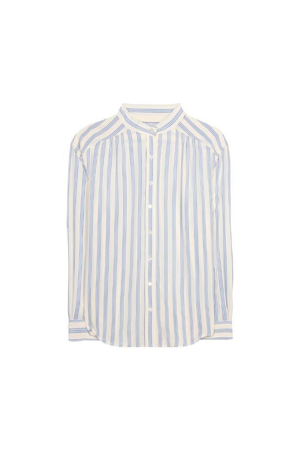 """Shirt, $370, <a href=""""http://www.mytheresa.com/en-de/silk-shirt-560967.html"""">Closed</a>."""