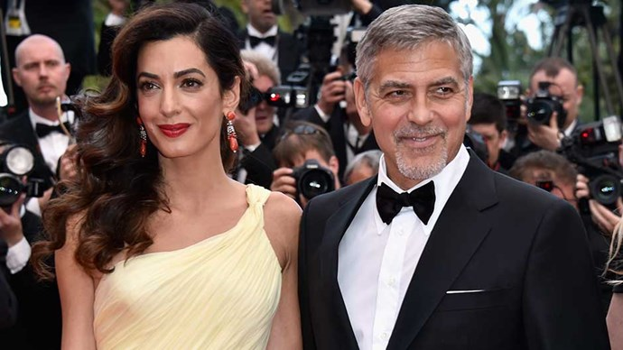 George and Amal Clooney arrive at the Cannes Film Festival premiere of 'Money Monster'