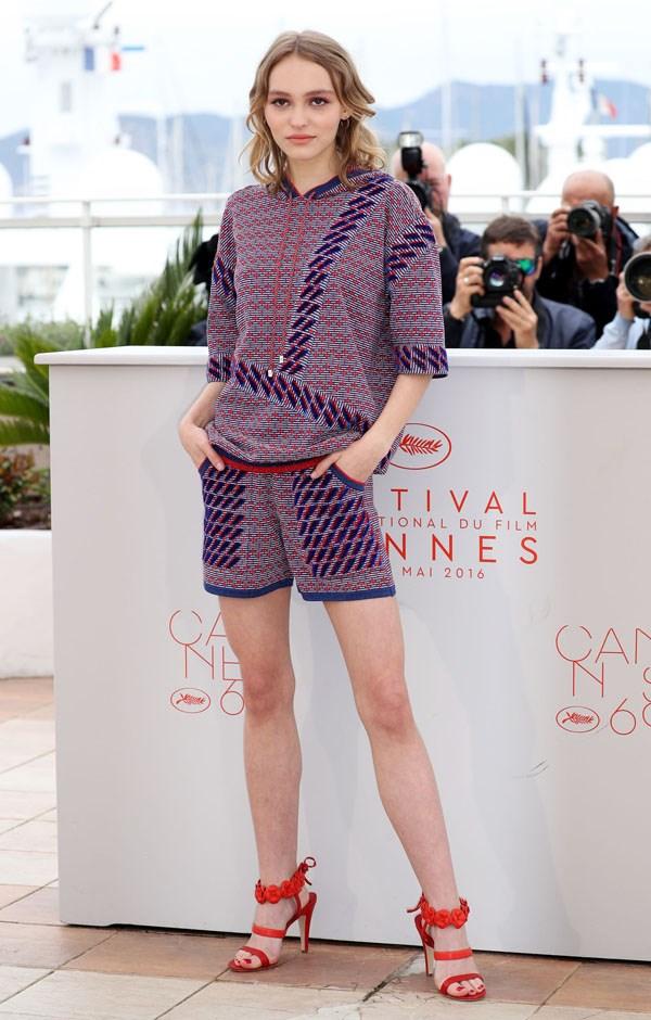 Lily Rose Depp.