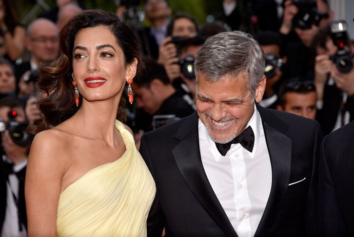 Amal and George Clooney.