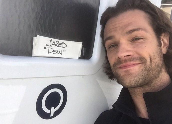 """Jared Padalecki: """"#gilmoregirlsrevival""""."""