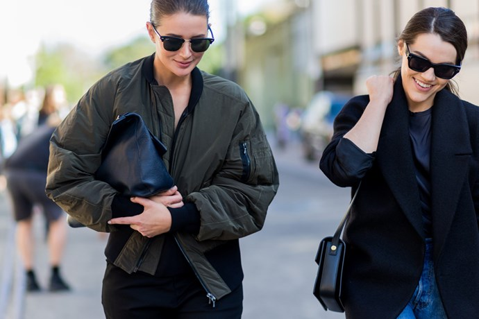 """Sara Donaldson and Georgia Martin <br><br> <strong><em>RELATED: <a href=""""http://www.elle.com.au/fashion/instant-style/2016/5/add-to-favourites-new-online-store-the-undone/"""">SARA DONALDSON TO LAUNCH ONLINE STORE, THE UNDONE</a></em></strong>"""