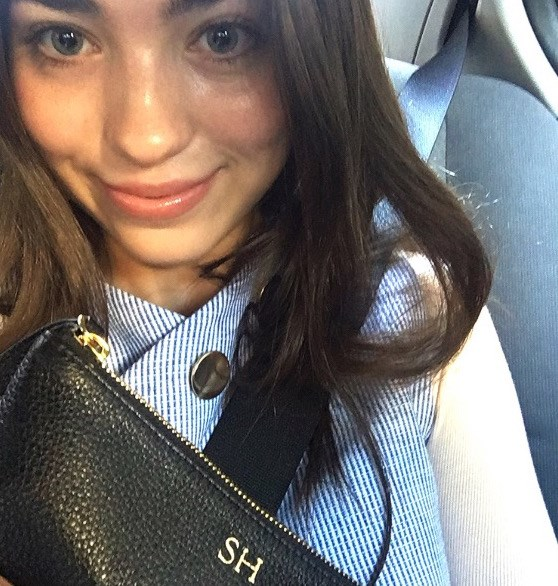 <strong>Day three</strong><br><br> At fashion week we selfie in the Uber!