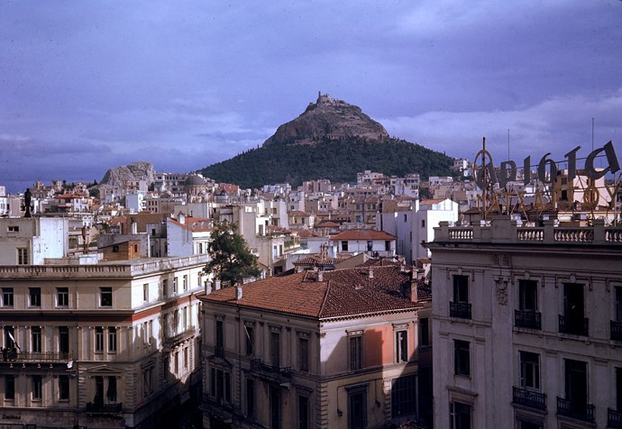 Athens, Greece City Skyline featuring Acropolis