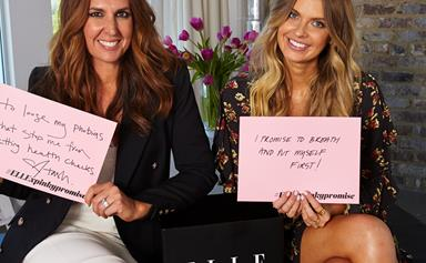 Elle Ferguson And Tash Sefton Play ELLE's Mystery Box Challenge
