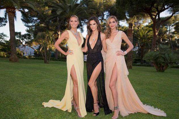 Heidi Klum, Alessandra Ambrosio and Ana Beatriz Barros.