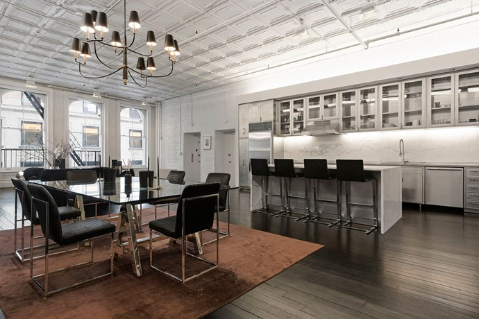 Alexander Wang's New York apartment photos courtesy of Corcoran
