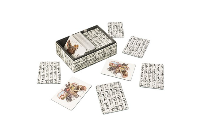 "<strong>Game.</strong><br><br> Give fresh flowers and books a break. An old-school game is the new perfect coffee table topper. Guess Who won't quite cut it. We're talking a designer card game. A bit more chic than ol' Glenda with the glasses in row two.<br><br> Memory Game, $340, <a href=""http://australia.hermes.com/house/games/memory-game/memoryspiel-la-collection-emile-hermes-2336.html"">Hermes </a>"