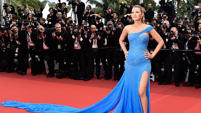 Blake Lively at the 2016 Cannes Film Festival.