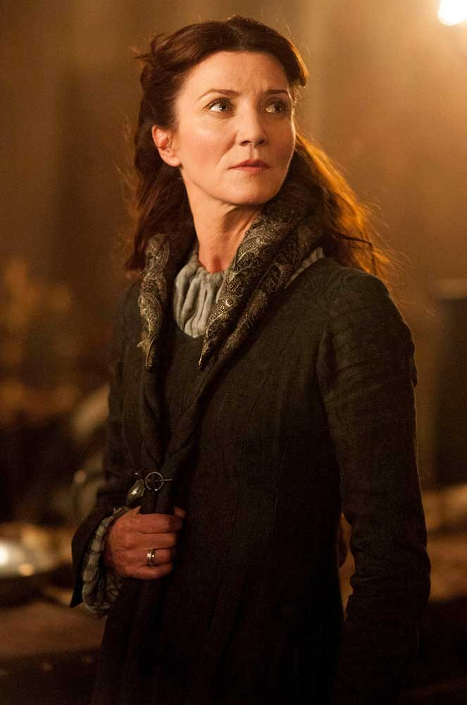 </P><p><b>Catelyn Stark</b></p><p> The steely Stark matriarch was played by <em>In the Heart of the Sea </em>actress Michelle Fairley before she met her fate at the Red Wedding in season three (like basically everyone, tbh).