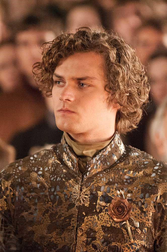 </p><p><b>Loras Tyrell</b></p><p> The Flower Knight is played by Finn Jones.